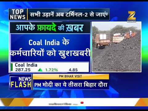 Coal India workers to receive Rs 51000 Diwali bonus
