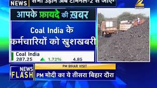 Coal India workers to receive Rs 51000 Diwali bonus