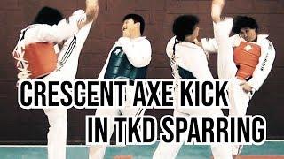 How to Use Crescent Axe Kick in Taekwondo, Kickboxing and MMA | TaekwonWoo