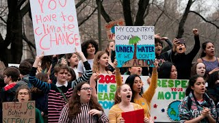 NYC students join global youth climate strike