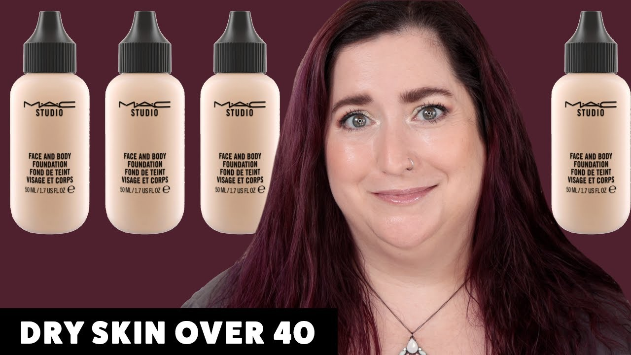 MAC FACE & BODY FOUNDATION | Dry Skin Review & Wear Test