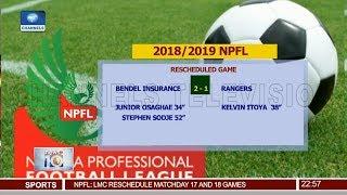 Bendel Insurance End Rangers 13-Match Unbeaten Run 25/04/19 Pt.4 |News@10|