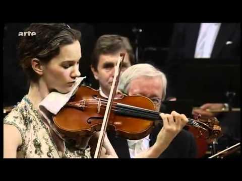 Semyon Bychkov conducts Glazunov Violin Concerto Hilary Hahn, WDR Symphony - YouTube.flv