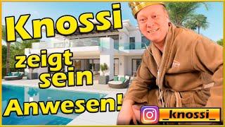 Knossi zeigt sein Anwesen! 🤴 | Instagram