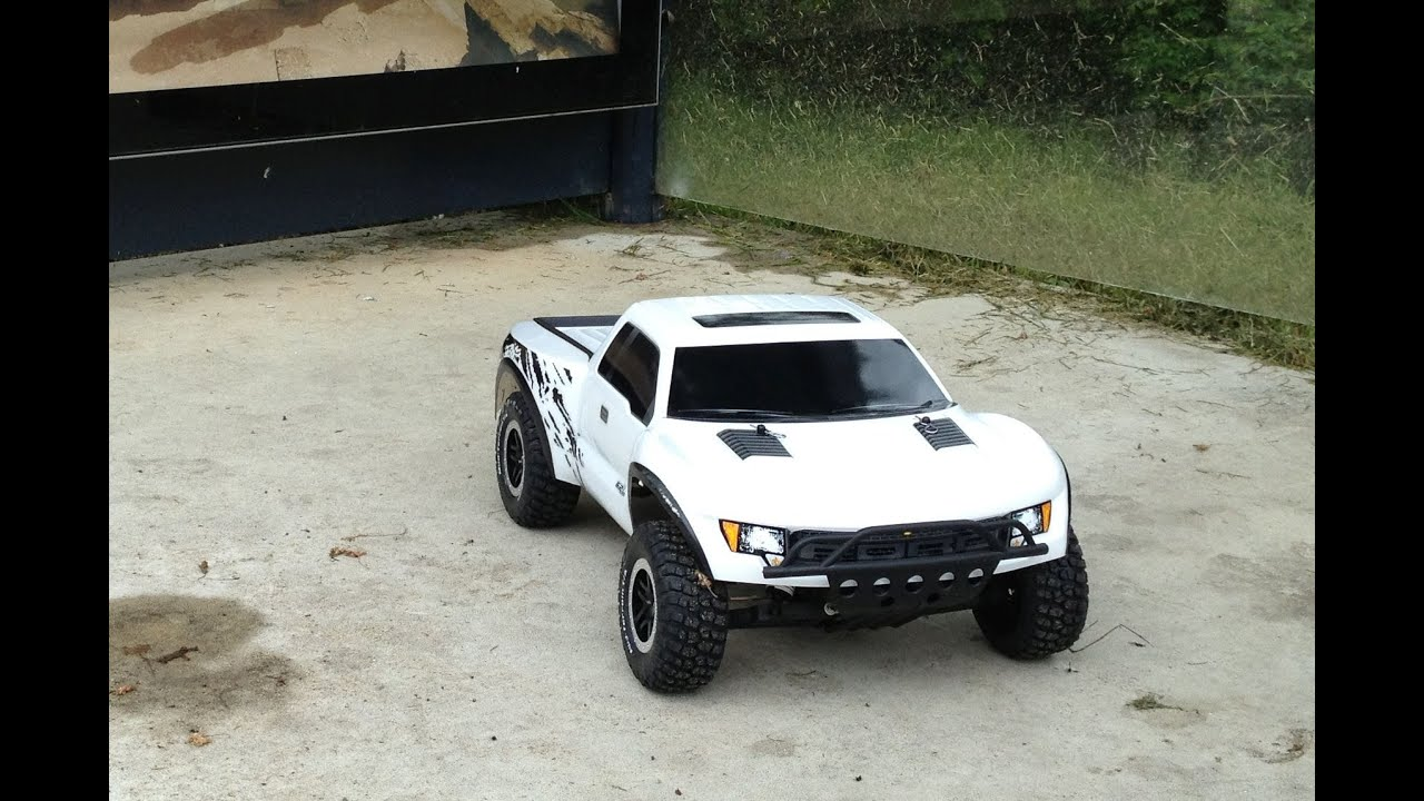 2s Lipo Traxxas Ford F 150 Raptor SVT 2wd Rc Car Hd Edit