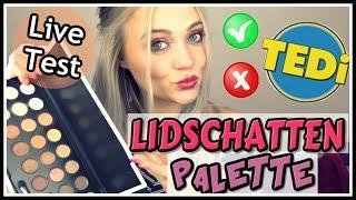 TEDI Palette im LIVE Test | Blond_Beautyy
