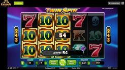 Casimba Online Casino Gameplay | Twin Spins Slot mit Echtgeld spielen | Gewinn