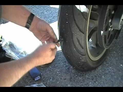 Car Tire Flat Repair