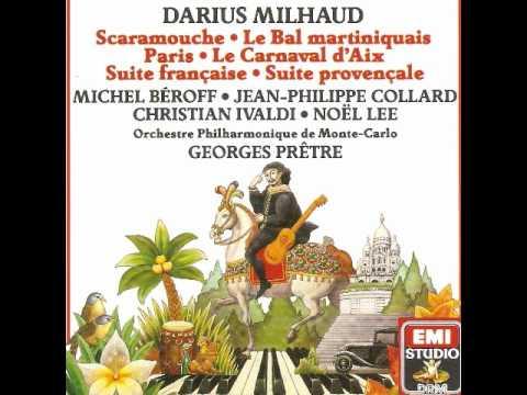 BRAZILEIRA  (Darius Milhaud)..:Christian Ivaldi et Noël Lee aux deux pianos