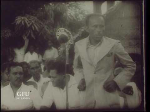 HON D S SENANAYAKE  FIRST PRIME MINISTER OF SRI LANKA