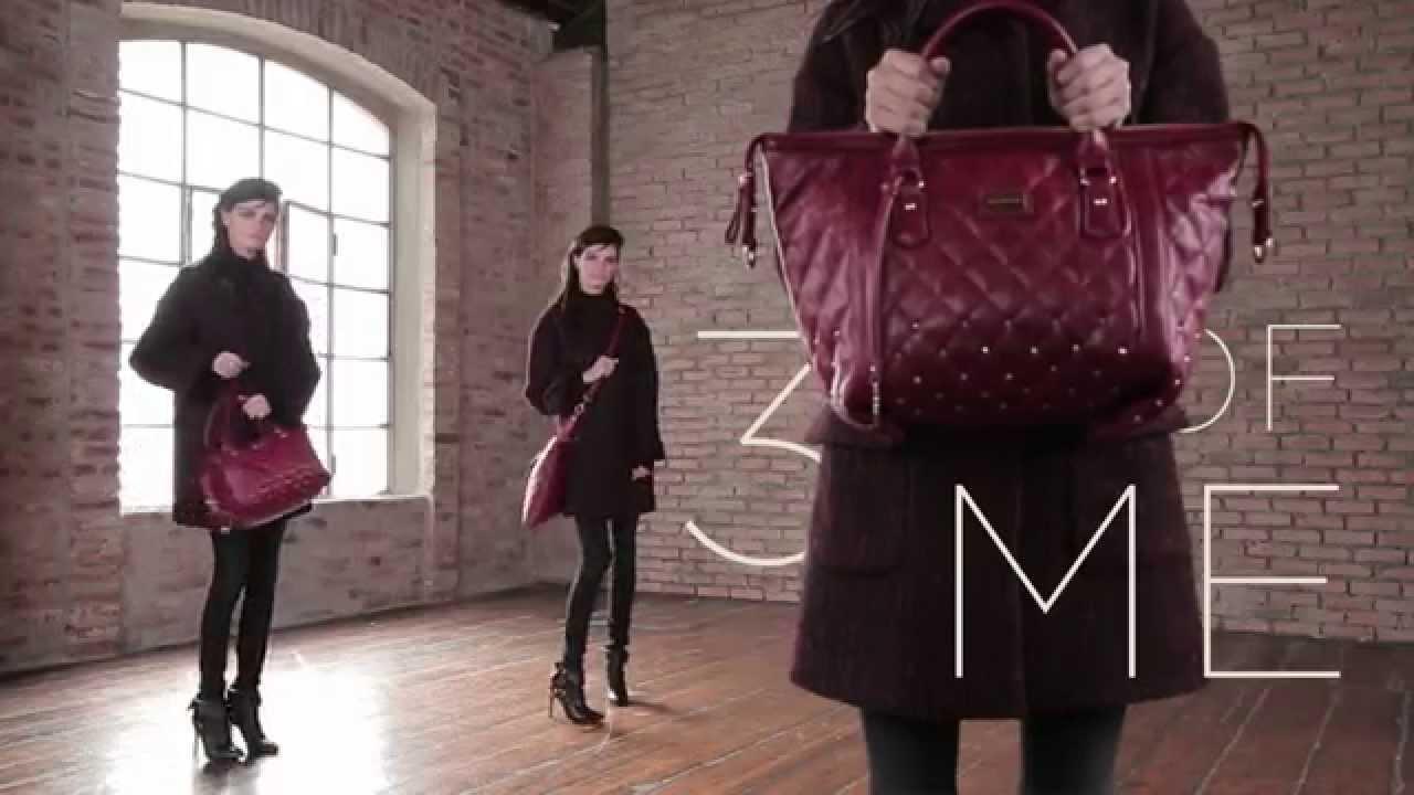 Fornarina - Très Jolie Bag A W 14 15 - YouTube 5bfdc6bd198