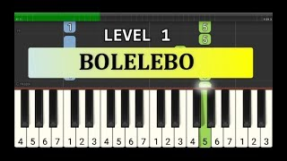 not piano bolelebo - tutorial level 1 - lagu daerah