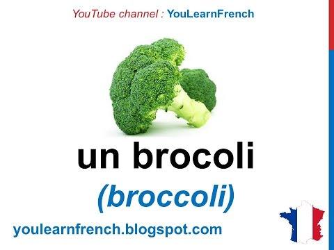 French Lesson 25 - VEGETABLES Food Vocabulary - LES LÉGUMES Vocabulaire - Verduras en francés