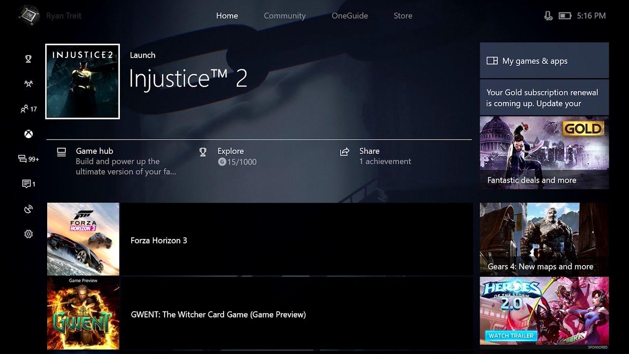 Вышло майское обновление Xbox One