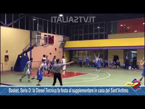 Basket, Serie D la Diesel Tecnica fa festa al supplementare in casa del Sant'Antimo