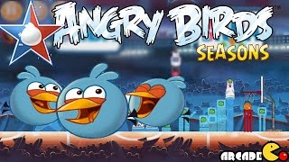 Angry Birds Seasons: NBA HAM Dunk 4-6 Walkthrough 3 Star