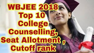 Expected  Expected  Opening & Closing Rank  for top 10 WBJEE of year 2018