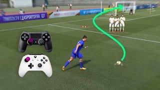 FIFA 21 - Knuckleball Free Kick Tutorial