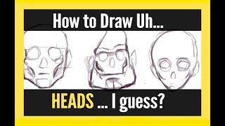 Fantastic Anatomy! #7: Drawing the Chin, Jaw, and Cheek Bones