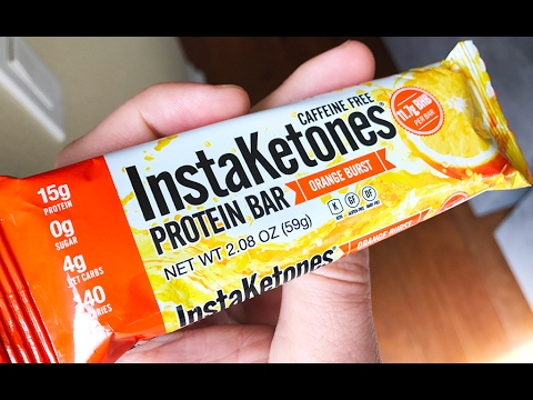 InstaKetones® Bar Review With 11.7g Exogenous Ketones