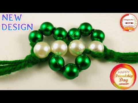 How To Make Friendship Band at Home   DIY Pearl Friendship Bracelet   DIY Pearl Friendship Band 2019