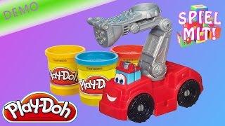 Play Doh Auto - Neue Demo vom Feuerwehrauto Boomer von Hasbro - Diggin' Riggs Fire Truck Chuck