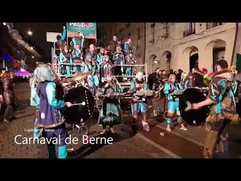 """VLOG 1 - Carnaval de Berne - Capitale Suisse  """"Bärner Fasnacht 2018"""" par Top Gaming Videos"""
