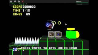 roblox Sonic The Hedgehog (sonic en roblox)
