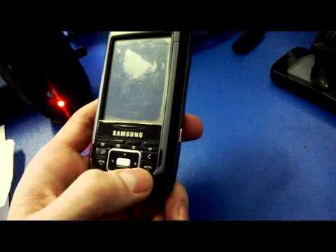 Смотр старенького Samsung i750