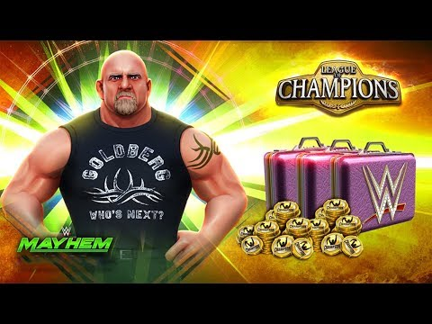goldberg---#wwe-mayhem-gameplay