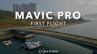 DJI Mavic Pro First Flight 首航 【將軍澳·昂船洲·數碼港·南灣沙灘】[航拍 #05]