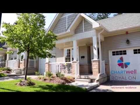 Virtual Tour: Chartwell Royal on Gordon Senior Townhomes - Guelph