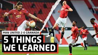 MUST Win This Trophy!   5 Things We Learned vs Granada   Man United 2-0 Granada