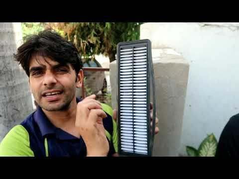 Grand i10 Ac and Air filter cleaning at Home By Bharat Ghunawat #Techvichar