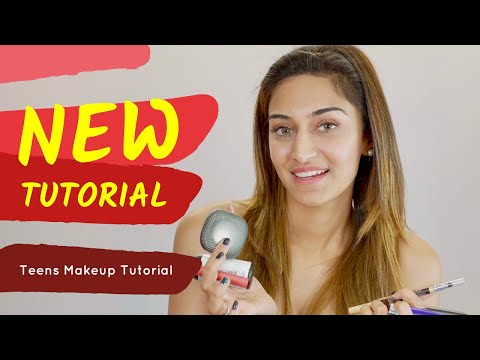 Teenage makeup look | Erica Fernandes | Tutorial