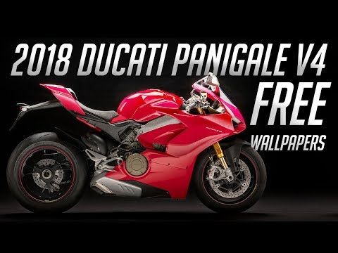 2018 Ducati Panigale V4 // FREE HD WALLPAPERS