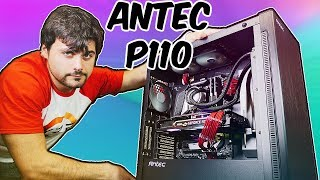 Montando un PC GAMING en una CAJA de EXCELENTE CALIDAD/PRECIO   ANTEC P110 LUCE RGB