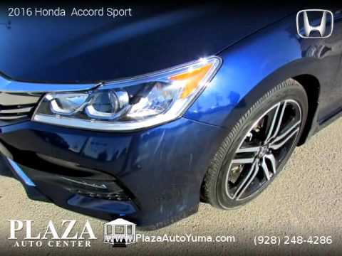 2016 Honda  Accord Sport - Plaza Auto Center