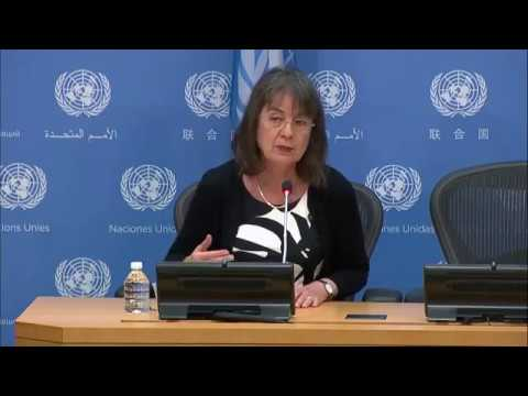Ninette Kelley (UNHCR) on the annual Global Trends Report -Press Conference (19 June 2017)