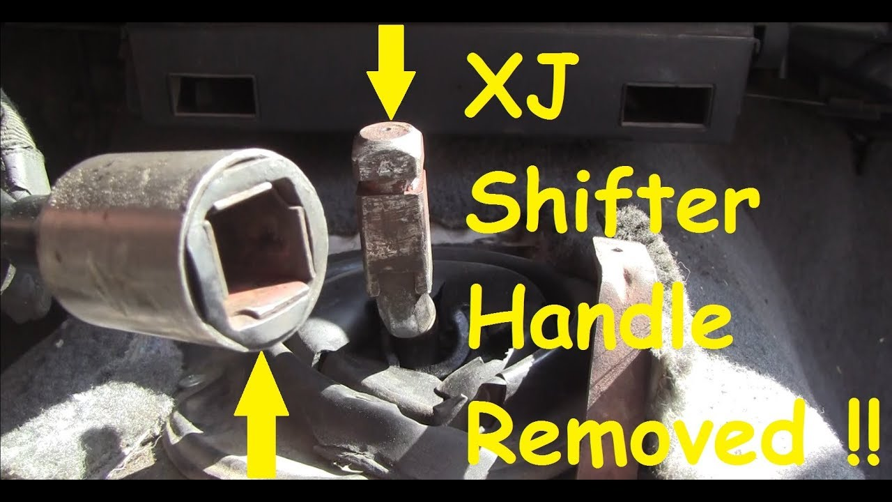 Jeep Ax5ax15 Shifter Handle Removal While Still In Your Rig
