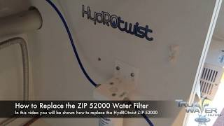 How To Replace The ZIP Industries 52000 Water Filter