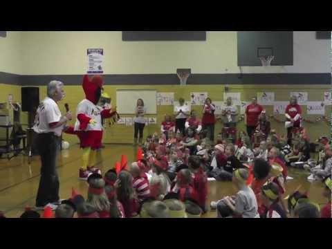 """The Cardinals' """"Do It Right"""" at Fifth Street School"""