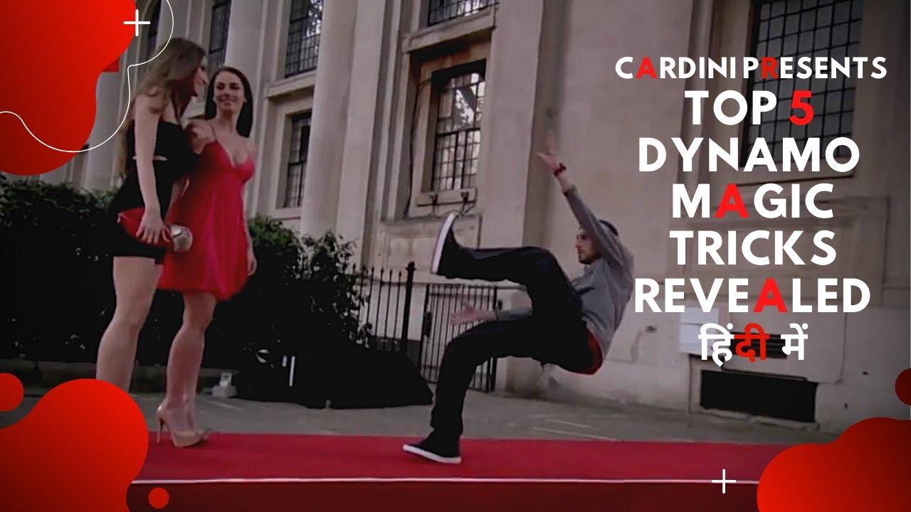 Dynamo's Top 5 magic tricks REVEALED || Magic Tricks ...