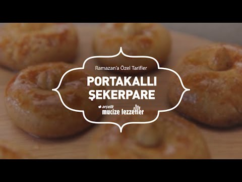 Portakallı Şekerpare Tarifi #mucizelezzetler - YouTube