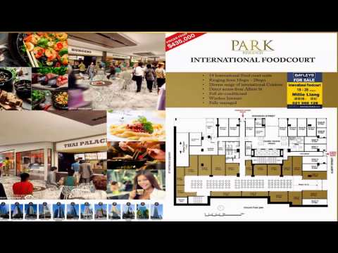Park Residences. Exciting New Foodcourt on Albert St, Auckland.