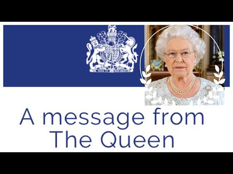 A Message From The Queen To The President Of The United States Of America