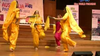 25/12 Girls Bhangra - Miss AUSTRALIA Punjaban 2012-13