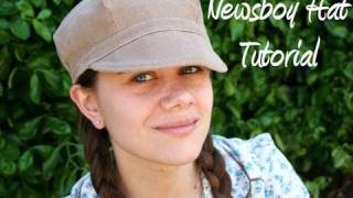 Newsboy Hat How to (With FREE Pattern) - Whitney Sews