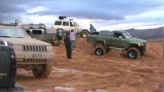 Hummer stuck, blazer stuck, ford stuck,4X4 ACTION! El Paso texas.MPG