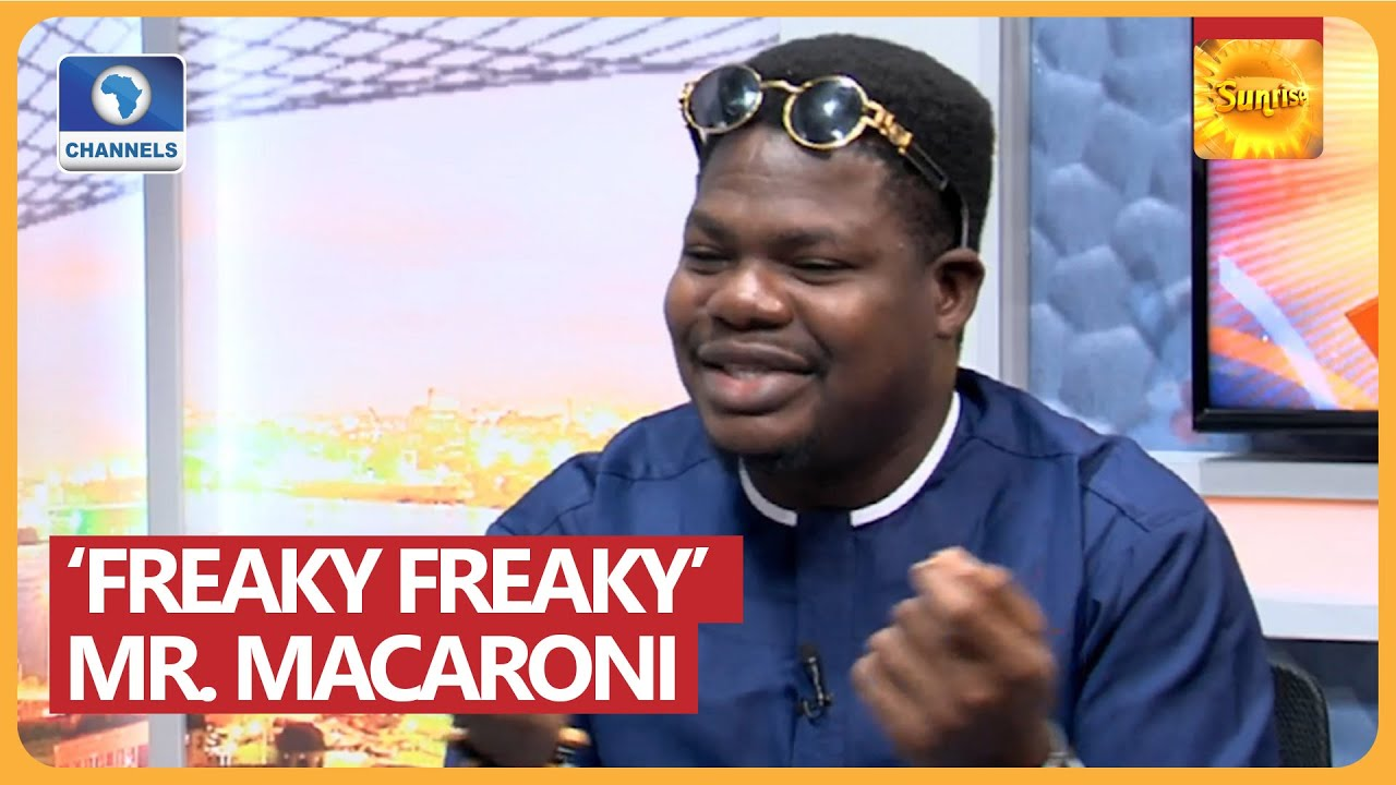How I Created Mr. Macaroni Brand For Myself